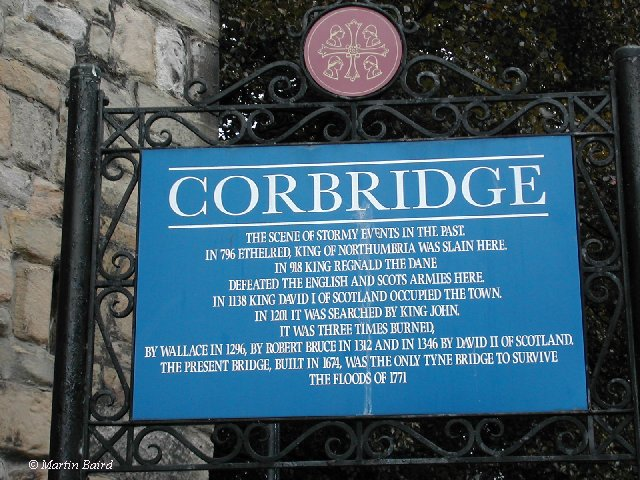 Image result for corbridge info plaque